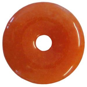 Carneol Donut Anhänger ca. 30mm