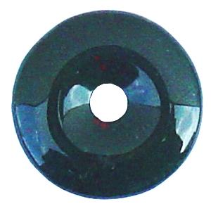 Heliotrop Donut Anhänger ca. 35mm