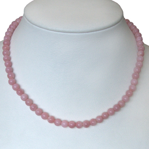 Andenopal rosa Kette
