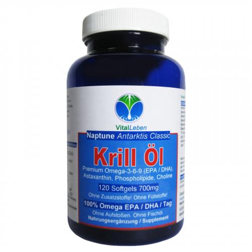 Krillöl BioMare OmegaRed Krill-Öl 120 Softgels