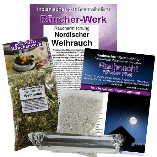 Nordischer Weihrauch Rauhnacht 5-tlg Räucherset