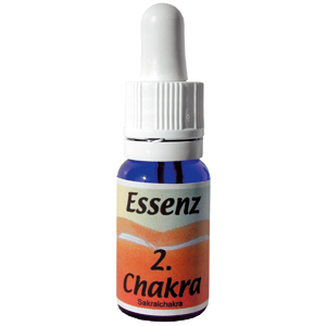 Chakra Essenz 2. Chakra orange 30ml inkl. Beschreibung