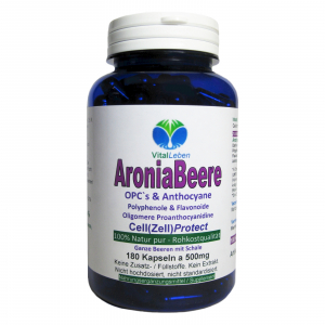 Aronia Beeren OPC Cell (Zell) Protect 180 Pulver Kapseln