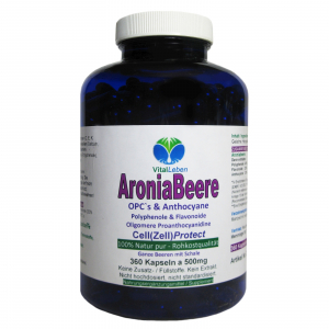 Aronia Beeren OPC Cell (Zell) Protect 360 Pulver Kapseln
