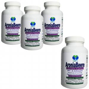 Aroniabeere OPC + Antioxidantien + Vitamine C+E+K - 720 Kapseln