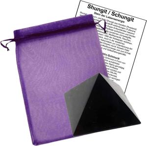 Shungit (Schungit) Pyramide 5x5cm