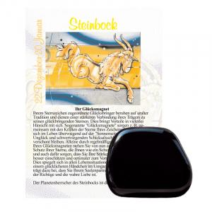 Onyx Glücksmagnet ca. 2-4cm Steinbock