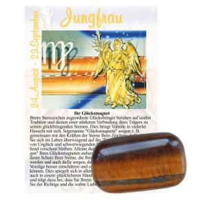 Tigerauge Glücksmagnet ca. 2-4cm Jungfrau