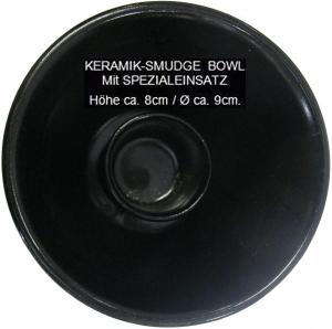 Keramik Räucherkelch für stehendes Räucherwerk Magic Pentagram 7-tlg Set