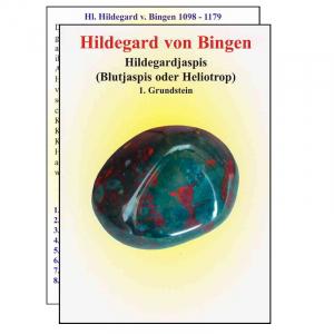 Hildegard von Bingen Hildegardjaspis Blutjaspis oder Heliotrop