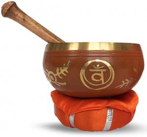 Chakra-Harmonie Bronze Klangschale für das 2. Chakra (Sexualchakra)