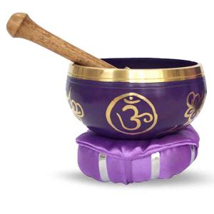 Chakra-Harmonie Bronze Klangschale für das 7. Chakra (Kronenchakra)