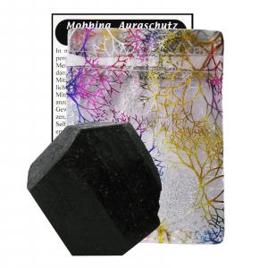 Schwarzer Turmalin Kristall Schörl Schutzstein ca.4cm