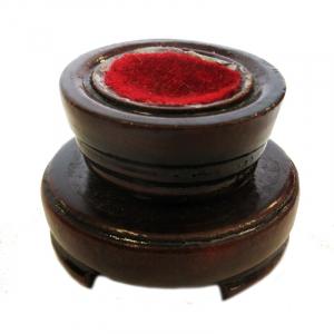 Feng Shui Kristallkugel 60mm facettiert auf Holzsockel