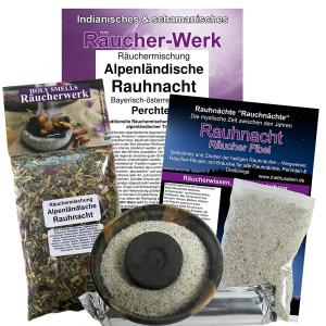 Alpenländische Rauhnacht Räucherset 6-tlg