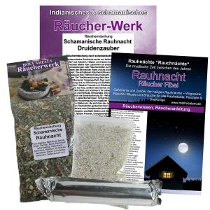 Schamanische Rauhnacht Druidenzauber Räucherset 6-tlg