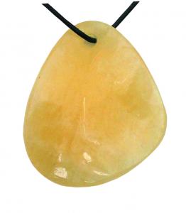 Chakra Amulett gelber Calcit 3. Chakra