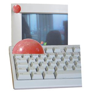 Rosenquarz Computerstein 3cm