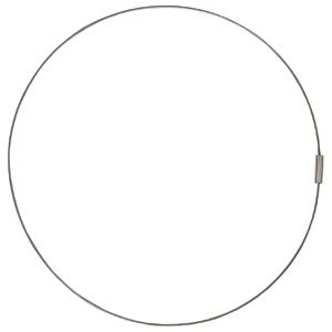 Edelstahl-Reif inkl. Magnet-Verschluss 50 cm