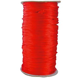 Seidenband 90 cm rot