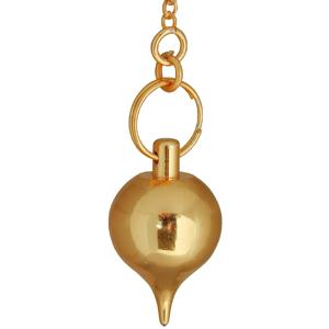 Präzisions Pendel aus Messing vergoldet ca.3 cm