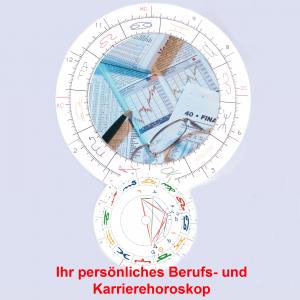 Ihr Berufs- und Karrierehoroskop für 1 Jahr im Voraus ca.60-70 S