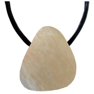 Mondstein Schmeichelstein gebohrt ca. 2-4cm