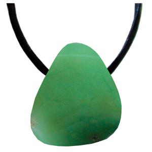 Nephrit Schmeichelstein gebohrt ca. 2-4cm