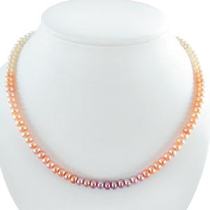 Chinesische Perlen Kugel Kette 6 mm