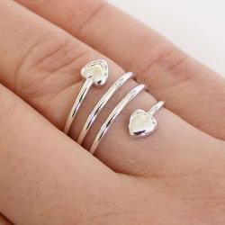 Feng Shui Magnet Ring Herz