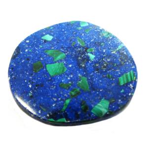 Azurit-Malachit Schmeichelstein ca. 3-6cm