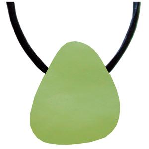 Jade grün Schmeichelstein gebohrt ca. 2-4cm