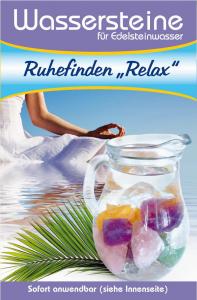 Wassersteinmischung Ruhe finden Relax