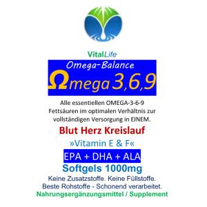 Omega 3/6/9, 120 Softgels