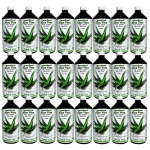 QueenRoyal Aloe Vera Trink Gel 99.55 % pur (24 Liter Sparpack)
