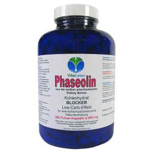 Phaseolin weiße Kidney Bohne 360 Pulver Kapseln