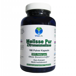 Melisse Pur, 180 Pulver-Kapseln a 300mg