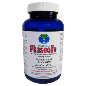Phaseolin weiße Kidney Bohne 120 Pulver Kapseln