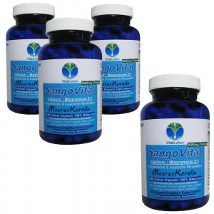 SangoVital Meereskoralle Kalzium & Magnesium 720 Kapseln