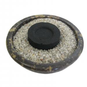 Räucherset 5-tlg Energetische Hausreinigung mit brauner Naturstein Schale