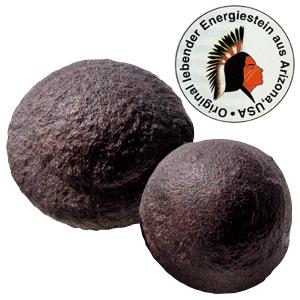 Moqui Marble Lebende Steine Paar mit Zertifikat & Booklet ca. 2-2,5cm