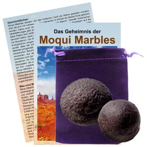 Moqui Marble Lebende Steine Paar mit Zertifikat & Booklet ca. 4-4,5cm