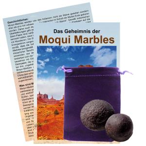 Moqui Marble Lebende Steine Paar mit Zertifikat & Booklet ca. 2,5-3cm