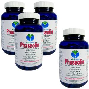 Phaseolin weiße Kidney Bohne 720 Pulver Kapseln