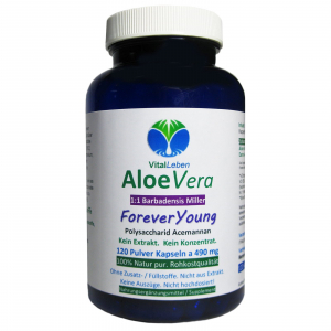 Aloe Vera Forever Young 120 Pulver Kapseln