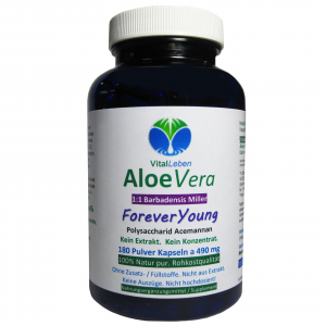 Aloe Vera Forever Young 180 Pulver Kapseln
