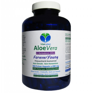 Aloe Vera Forever Young 360 Pulver Kapseln