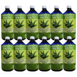 ForeverFit Aloe Vera Trinkgel 12 x 1000ml Flasche