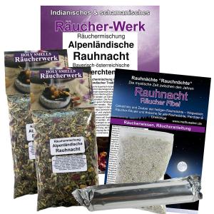 Alpenländische Rauhnacht 6-tlg Räucherset