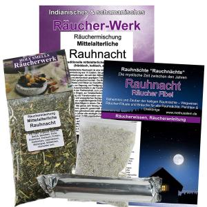 Mittelalterliche Rauhnacht 6-tlg Räucherset